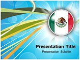 Powerpoint Templates on Mexico Flag