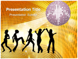 Night Party Photos Templates For Powerpoint