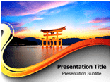 Torii Gate Pictures Templates For Powerpoint