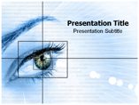Eye Of Human Templates For Powerpoint