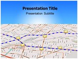 Street Mapping Templates For Powerpoint