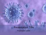 Swine flu virus Templates For Powerpoint