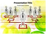 Line Organization Templates For Powerpoint