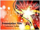 Hollywood boulevard Templates For Powerpoint