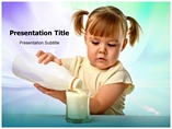 Milk Health Templates For Powerpoint