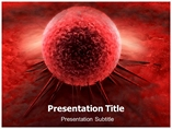 Templates For Powerpoint on Cancer Cell