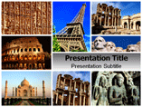 Ancient Architecture Templates For Powerpoint
