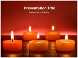 Wall Candles Templates For Powerpoint