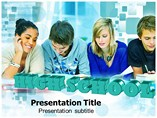 High School Templates For Powerpoint