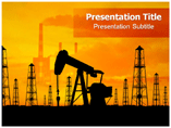 Refinery Machine Templates For Powerpoint