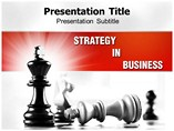 Strategy In Business Templates For Powerpoint