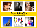 Fashion Capitals And Their Designers Templates For Powerpoint