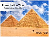 Double Pyramid PPT Templates For Powerpoint