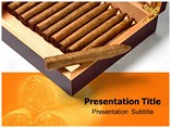 Cigar Templates For Powerpoint