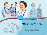 Best Doctors Team Powerpoint Template