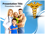 Family Health Doctor Templates For Powerpoint