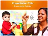 Mathematics Teaching Model Templates For Powerpoint