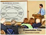 Business Model On Board PowerPoint Template