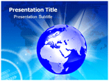 Africa Globe Templates For Powerpoint