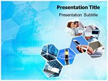 Electronics Communication Templates For Powerpoint