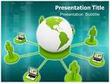 Networking Concept Templates For Powerpoint