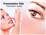 Antiglaucoma drugs Templates For Powerpoint
