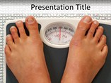 Medical powerpoint background - Weight loss