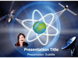 Communication system modeling Templates For Powerpoint