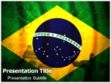 Geography of Brazil Templates For Powerpoint
