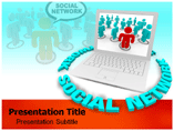 Social Network Templates For Powerpoint
