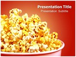 Butter Popcorn Templates For Powerpoint