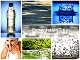 Fresh water Templates For Powerpoint