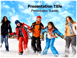 Animated Winter Theme Templates For Powerpoint