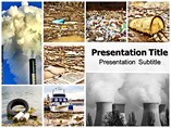 Pollution Of Water Templates For Powerpoint