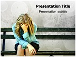 Sad Mood Disorder Templates For Powerpoint