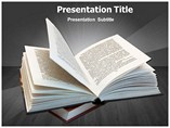 Open Book Casting Templates For Powerpoint