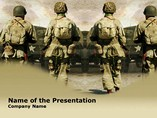 Army Rangers Templates For Powerpoint