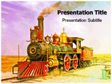Locomotive Templates For Powerpoint