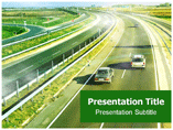 Road infrastructure powerpoint templates
