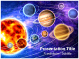 Solar System Model Templates For Powerpoint