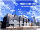 Thermal power station Templates For Powerpoint