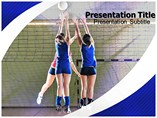 Volleyball PowerPoint Backgrounds