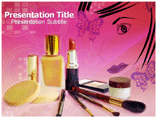 Beauty products Templates For Powerpoint