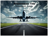Air plane powerpoint templates