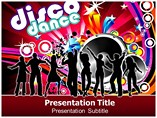 Dance music Templates For Powerpoint