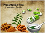Herbal medicine Templates For Powerpoint