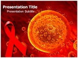 Hiv aids virus Templates For Powerpoint