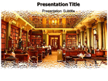 Book Library Templates For Powerpoint