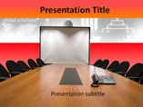 Session in Conference Room PowerPoint Layouts
