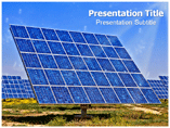 Solar power plant Templates For Powerpoint